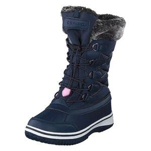Eskimo Frosty Dk Blue/pink 95, Sko, Vinterstøvler, Blå, EU 28