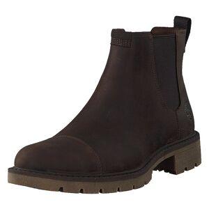 Timberland Elmhurst Chelsea Dk Brown Full Grain, Herre, Sko, Chelsea boots, Brun, EU 43