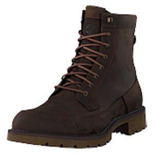 Timberland Elmhurst 6 Inch Dk Brown Full Grain, Shoes, brun, EU 43,5