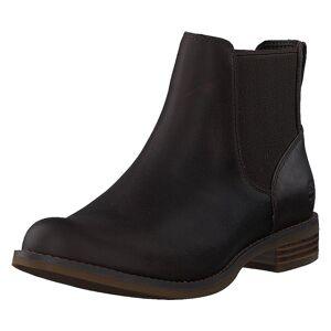 Timberland Magby Low Chelsea Dk Brown Full Grain, Dame, Sko, Chelsea boots, Brun, EU 36