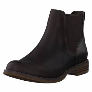 Timberland Magby Low Chelsea Dk Brown Full Grain, Dame, Sko, Chelsea boots, Brun, EU 41