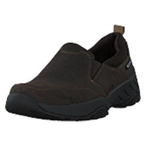 Rockport Xcs Spruce Peak Slipon Dk Chocolate Lea, Shoes, sort, EU 44