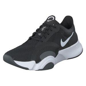 Nike Wmns Superrep Go White/black/dk Smoke Grey, Dame, Shoes, sort, EU 38