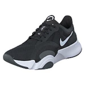 Nike Wmns Superrep Go White/black/dk Smoke Grey, Shoes, sort, EU 38