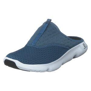 Salomon Reelax Slide 5.0 Copen Blue/night Sky/white, Herre, Sko, Sneakers, Turkis, UK 9,5