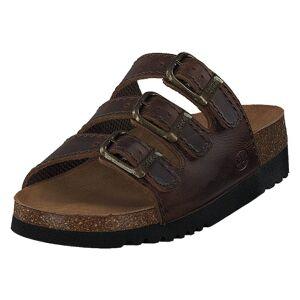 Scholl Rio Dk Brown, Dame, shoes, brun, EU 42