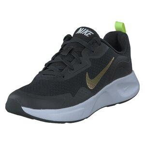 Nike Wmns Wearallday Black/saturn Gold-dk Smoke Gre, Dame, Sko, Sneakers, Sort, EU 36