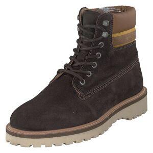 Gant Roden Mid Lace Boot Dk Brown+toffee, Herre, Sko, Boots, Brun, EU 43