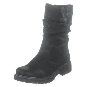 Rieker Z3598 Black, Dame, Sko, Vinterstøvler, Sort, EU 39
