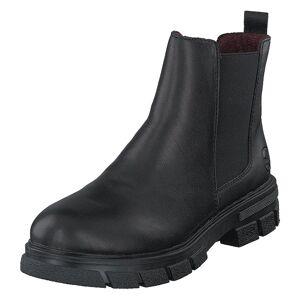 Rieker Z9150 Black, Dame, Sko, Chelsea boots, Sort, EU 40