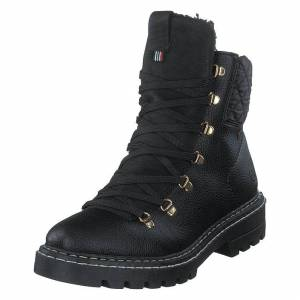 Rieker Z5500 Black, Dame, Sko, Boots, Sort, EU 37