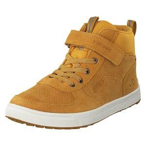 Viking Samuel  Mid Wp Jr Mustard, Børn, shoes, brun, EU 30