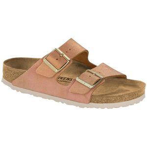 Birkenstock Arizona Leather Washed Metallic - Lightpink * Kampanja *  - Size: 1012901 - Color: vaalea roosa