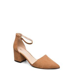 Bianco Biadivived Pump Shoes Heels Pumps Classic Ruskea Bianco