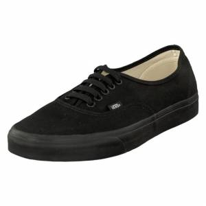 Vans U Authentic Black/Black, Kengät, Musta, EU 36