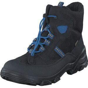 Ecco 721232 Snowboarder Black/Black/Cobalt, Kengät, Bootsit, Vaelluskengät, Musta, Lapset, 27