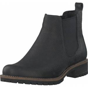 Ecco 244603 Elaine Black, Kengät, Bootsit, Chelsea boots, Harmaa, Naiset, 35