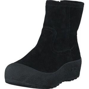 Duffy 75-25011 Black, Kengät, Bootsit, Curlingkengät, Musta, Naiset, 39