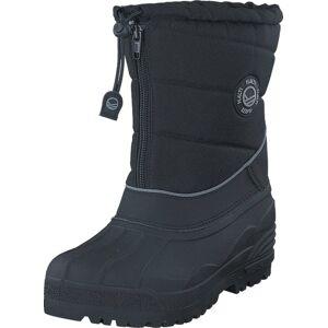 Halti Ponto Jr Black, Kengät, Bootsit, Lämminvuoriset kengät, Harmaa, Violetti, Lapset, 26