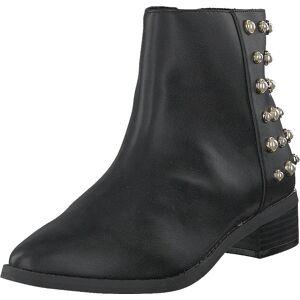 Vero Moda Vmkelina Boot Black, Kengät, Bootsit, Korkeavartiset bootsit, Harmaa, Naiset, 40