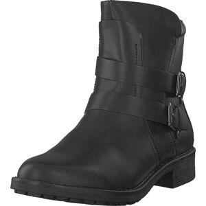 Vero Moda Vmvilma Biker Boot Black, Kengät, Bootsit, Korkeavartiset bootsit, Musta, Naiset, 39