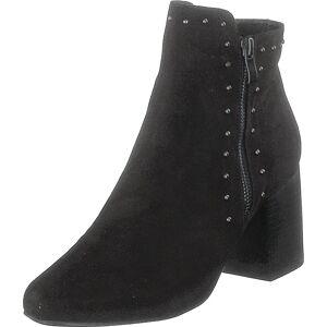 Bianco Ankle Boot With Details Jas18 Black, Kengät, Saappaat ja saapikkaat, Nilkkurit, Musta, Naiset, 40