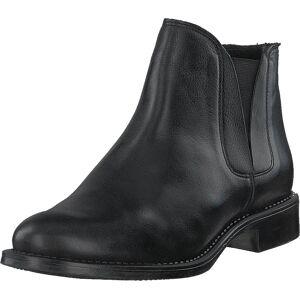 Bianco V-split Boot Noos Black, Kengät, Bootsit, Chelsea boots, Harmaa, Naiset, 36
