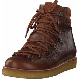 Angulus Boot With Laces And D-rings Medium Brown, Kengät, Bootsit, Kengät, Ruskea, Naiset, 38