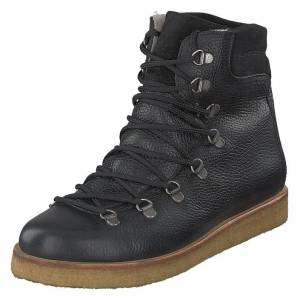 Angulus Boot With Laces And D-rings Black, Naiset, Kengät, Bootsit, Musta, EU 38