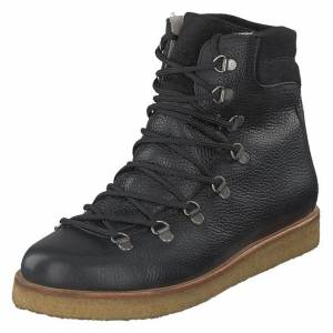 Angulus Boot With Laces And D-rings Black, Naiset, Kengät, Bootsit, Musta, EU 39