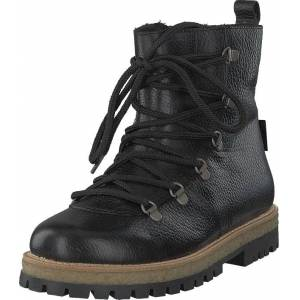 Angulus Boot With Laces And D-rings Black, Kengät, Bootsit, Kengät, Musta, Naiset, 37
