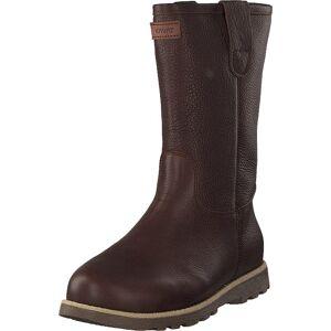 Kavat Lugnvik Ep Dark Brown, Kengät, Bootsit, Korkeavartiset bootsit, Ruskea, Unisex, 36