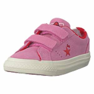 Converse One Star 2v Ox Prism Pink/fiery Red, Shoes, beige, EU 22