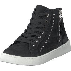 Duffy 73-42228 Black, Kengät, Sneakerit ja urheilukengät, Korkeavartiset tennarit, Musta, Naiset, 41
