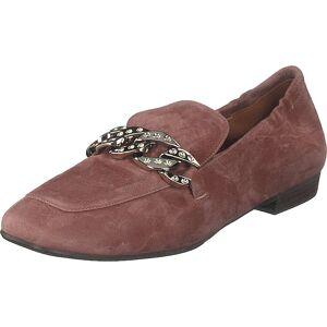 Billi Bi Shoes Dark Bardom Pink/silver, Kengät, Matalapohjaiset kengät, Ballerinat, Vaaleanpunainen, Ruskea, Naiset, 37