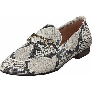 Billi Bi Shoes Off White 940 Snake, Kengät, Matalapohjaiset kengät, Slip on, Ruskea, Harmaa, Naiset, 39