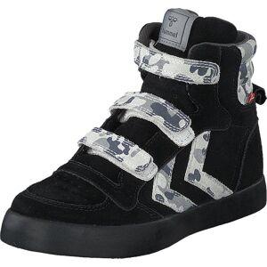 Hummel Stadil Camo Jr Black, Kengät, Bootsit, Lämminvuoriset kengät, Musta, Unisex, 34