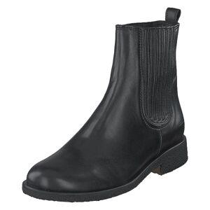 Angulus Chelsea Boot With Elastic Black/black, Naiset, Kengät, Bootsit, Harmaa, EU 37