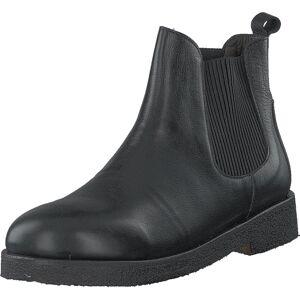 Angulus Chelsea Boot With Chunky Sole Black/black, Kengät, Bootsit, Chelsea boots, Harmaa, Unisex, 33
