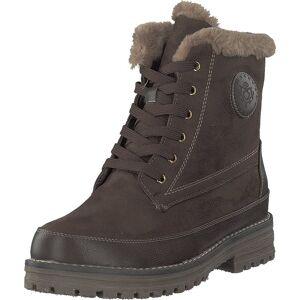 Duffy 71-02131 Dark Brown, Kengät, Bootsit, Kengät, Ruskea, Naiset, 41