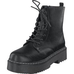 Duffy 78-68331 Black, Kengät, Bootsit, Kengät, Musta, Naiset, 41