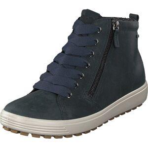 Ecco Soft 7 Tred Marine, Kengät, Bootsit, Chukka boots, Sininen, Naiset, 41