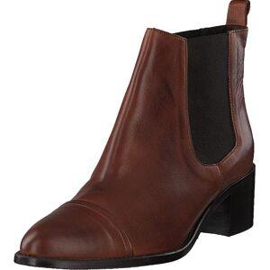 Bianco Biacarol Dress Chelsea Cognac, Kengät, Bootsit, Chelsea boots, Ruskea, Naiset, 36