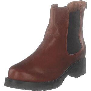 Bianco Biacoral Winter Chelsea Cognac, Kengät, Bootsit, Chelsea boots, Ruskea, Naiset, 38