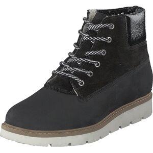 Bianco Biaanli Winter Wedge Boot Black, Kengät, Bootsit, Vaelluskengät, Musta, Naiset, 37