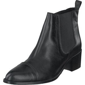 Bianco Biacarol Dress Chelsea Black, Kengät, Saappaat ja Saapikkaat, Nilkkurit, Musta, Harmaa, Naiset, 41