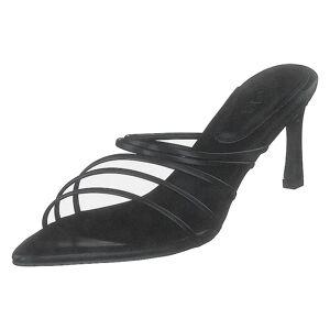 NA-KD Strappy Pointy Sandals Black, Naiset, Kengät, Matalat korot, Musta, EU 39