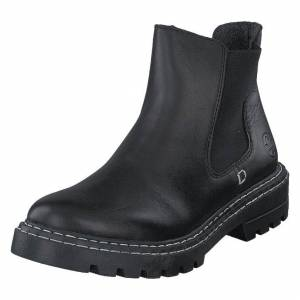 Rieker Z5551 Black, Naiset, Kengät, Musta, EU 39