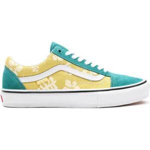 Vans Skate Old Skool Shoes (Marine/Gold (aloha))