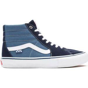 Vans Skate SK8-Hi Shoes (Navy Blue)